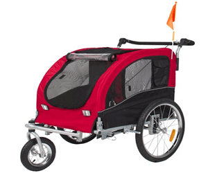 Best-Choice-Products-2-in-1-Pet-Dog-Bike-Trailer-Bicycle-Trailer-Stroller-Jogger