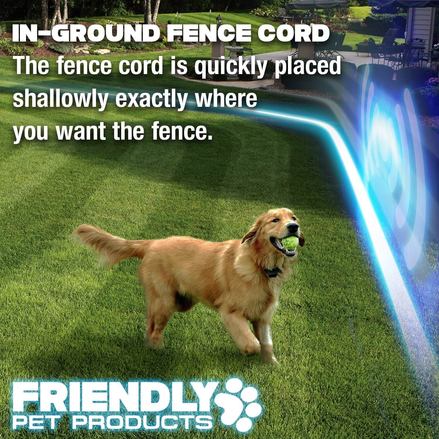 friendly pet products wireless dog fence with radio u0026 in ground cord electric wifi transmitter