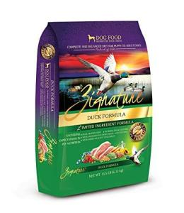 Zignature-Duck-Formula-Dog-Food