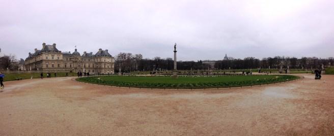 สวน Jardin du Luxembourg แถวๆกลางๆปารีส
