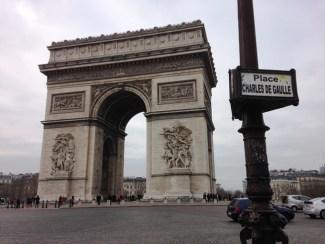 ประตูชัย Arc de Triomphe