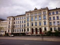 อาคารของมหาวิทยาลัย Chemnitz สวยงามมาก