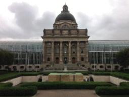 Bayerisches Staatskanzlei อาคารที่ทำงานของนายกของรัฐบาวาเรีย