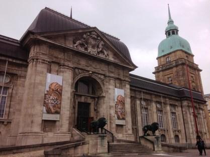 พิพิธภัณฑ์ของรัฐ Hessen ใจกลางเมือง Darmstadt