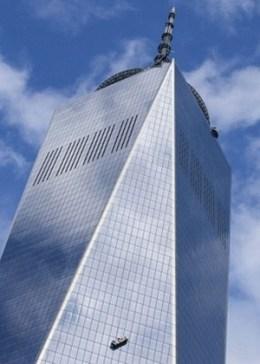 Novo vidro utilizado no 1 WTC