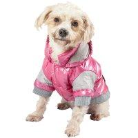 Pet Life Pink Vintage Aspen Dog Ski Jacket | Petco