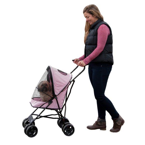 Pet Gear Travel Lite Stroller In Pink Petco