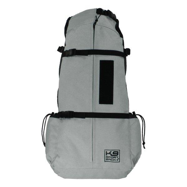 K9 Sport Sack Air Facing Backpack Light Grey Dog