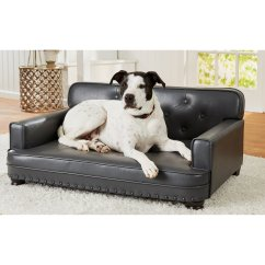 Fleas In Sofa No Pets Brown Leather Futon Bed Enchanted Home Pet Library Grey For Dog Petco