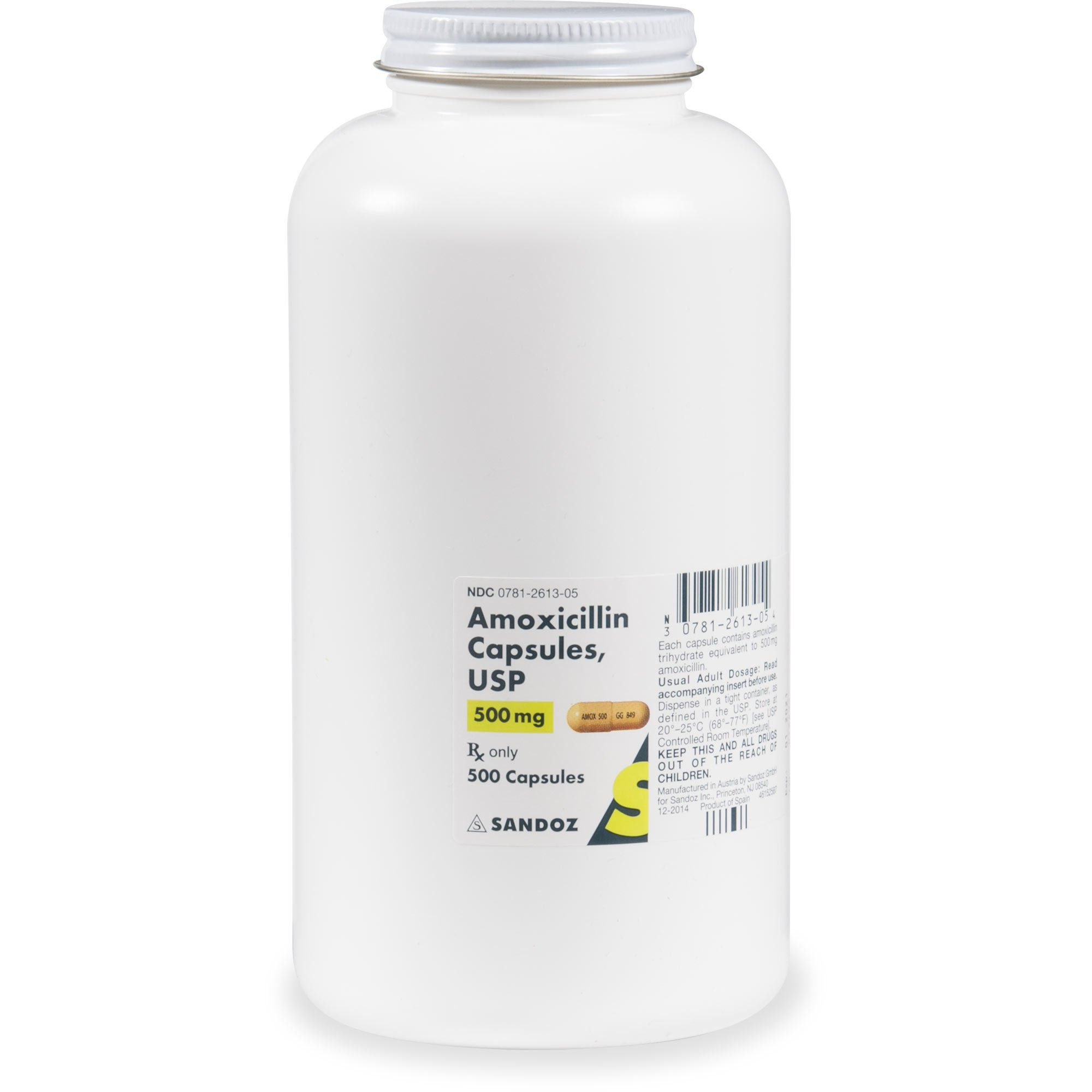 Amoxicillin 500 mg Capsules   Petco