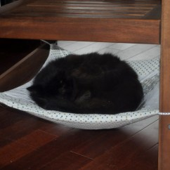 Cat Hammock Under Chair Womb Replica Diy Petdiys Com