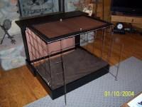 DIY Dog Murphy Bed Kennel - petdiys.com