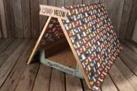 DIY Cat Play Tent - petdiys.com