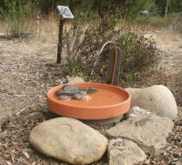 DIY Solar Water Fountains - Bing images