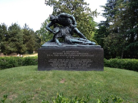"Monument to ""The Angel of Marye's Heights"" at Fredericksburg"