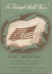 1940s Fort McHenry Brochure.