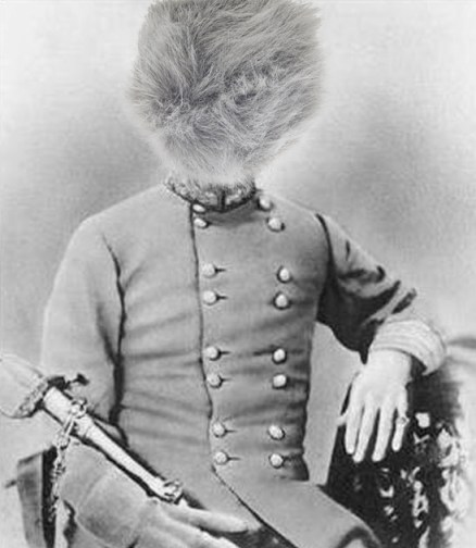 "The only known image of General Trible (sorry - ""Tribble"")."
