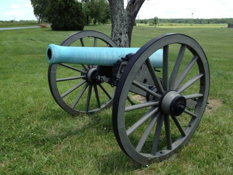 Front View of the Model 1857 12-pounder.