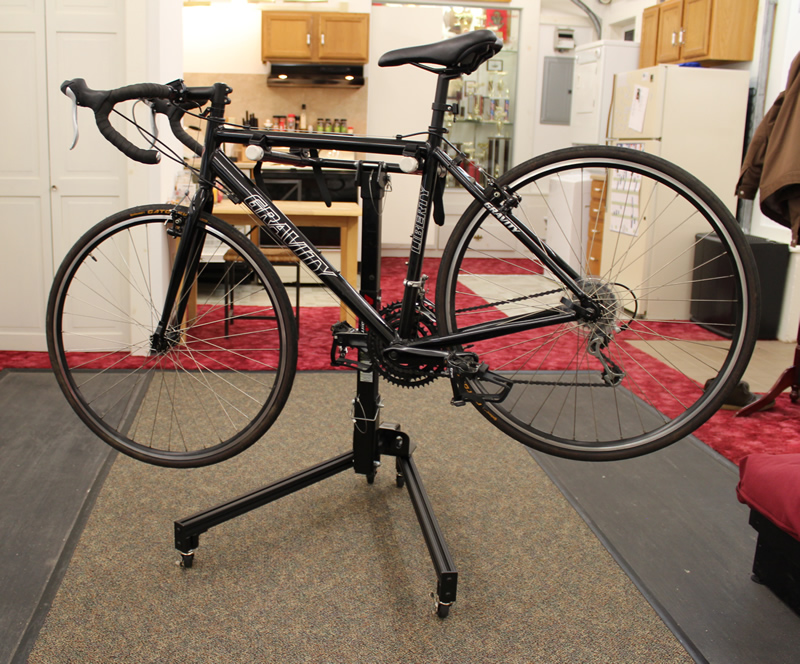 Miniproject Hitch receiver bike rack stand