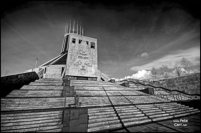 The Metropolitan Cathedral in Liverpool