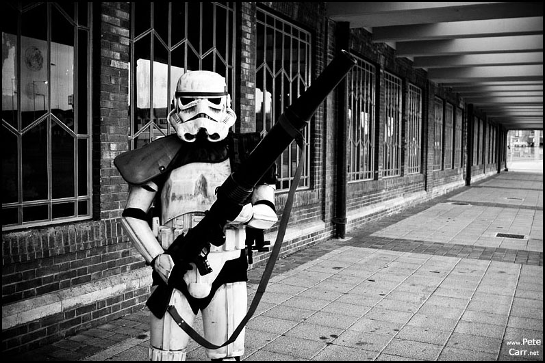 Stormtroopers at Seacombe