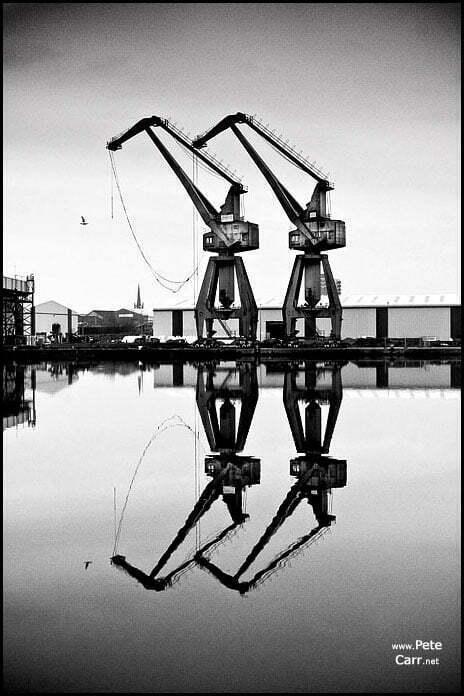 Birkenhead crane