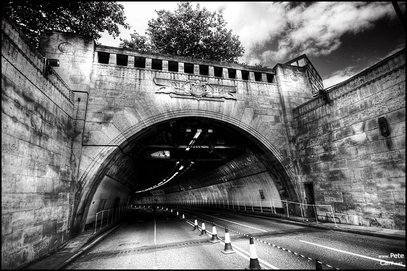 Liverpool Entrance to the Mersey Tunnel
