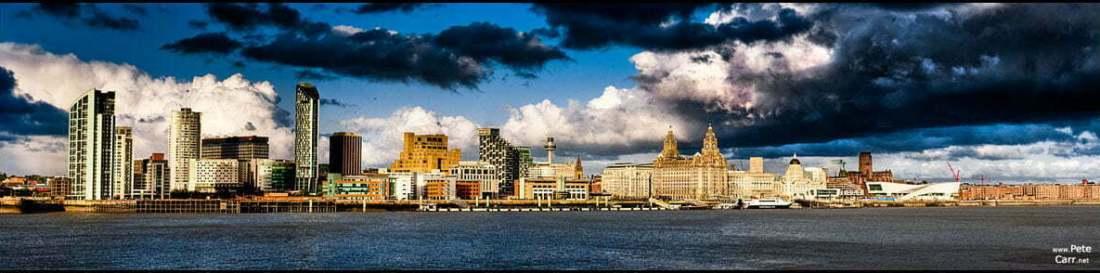 The Modern Liverpool Skyline