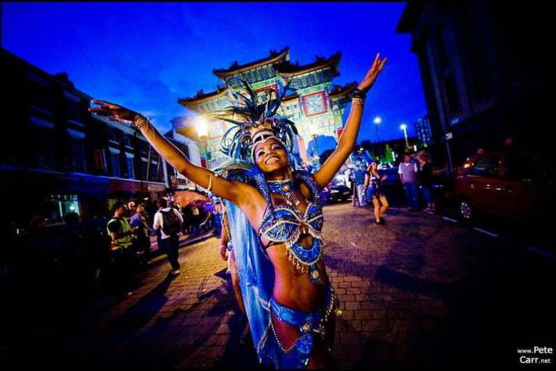 Samba Carnival in Liverpool