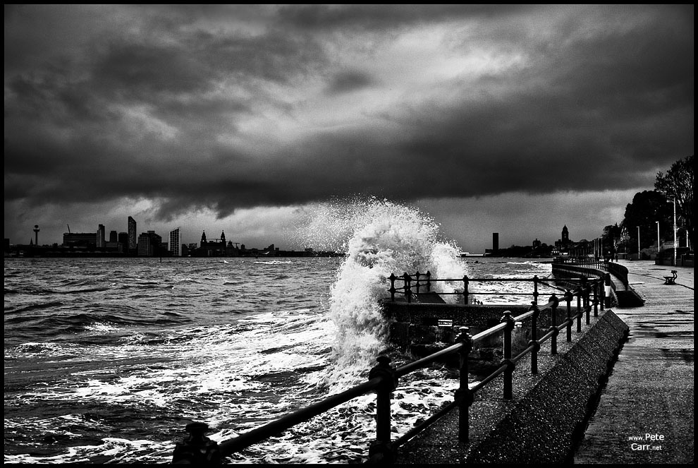 Stormy River Mersey