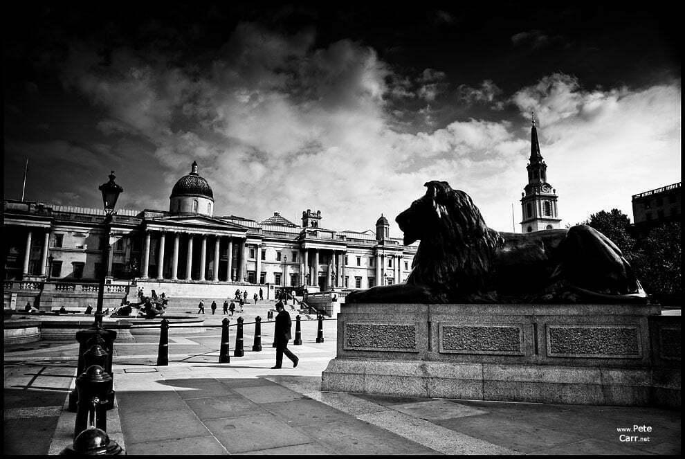 Trafalgar Square - I