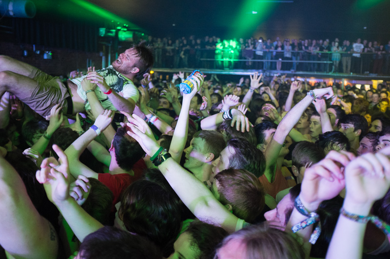 Enter Shikari in the O2 Academy Liverpool at Liverpool Sound City 2013