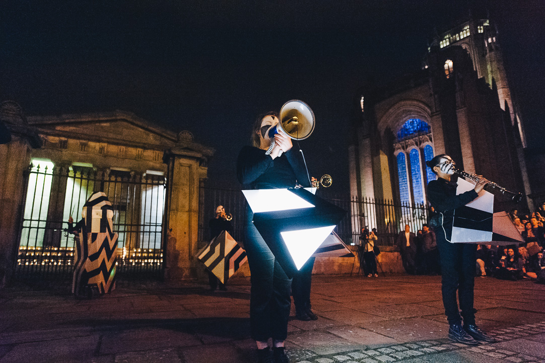Light Night Liverpool 2014 - Kazimier Sound Battle at Anglican Cathedral