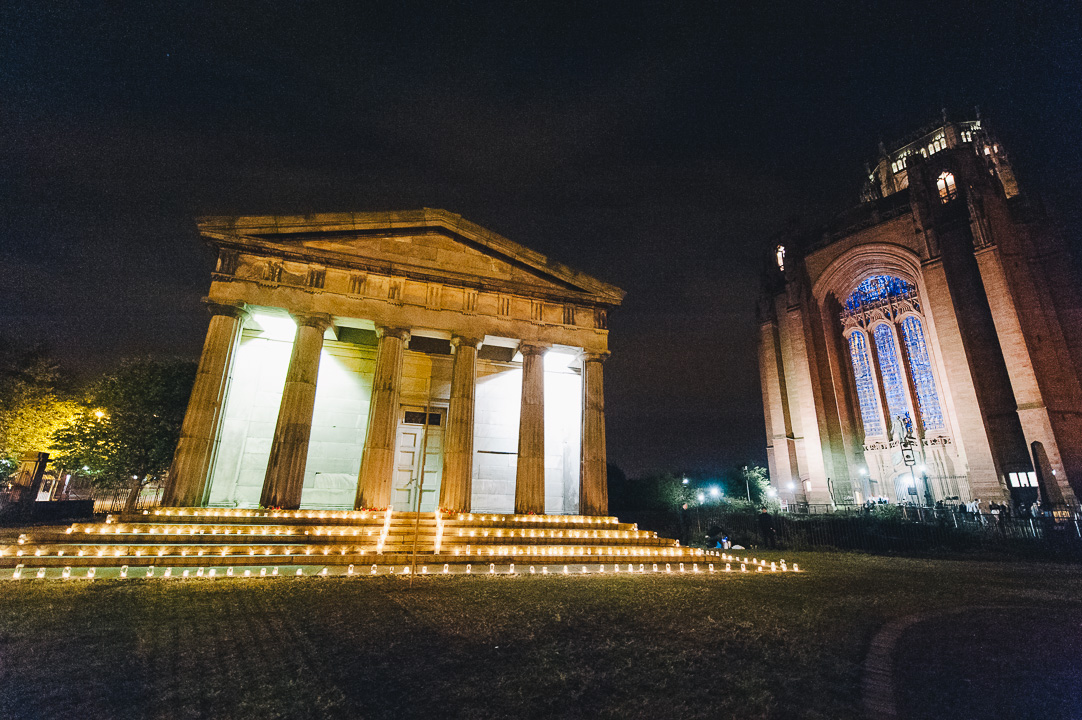 Light Night Liverpool 2014 - The Oratory at Anglican Cathedral