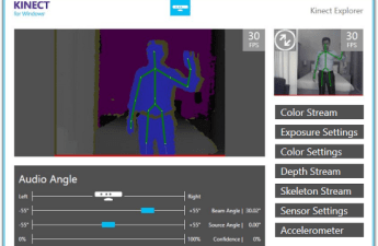 Face Tracking – Kinect 4 Windows v2 – Pete D