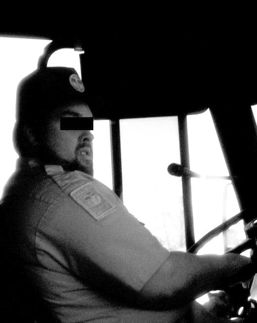 An unfair bus driver