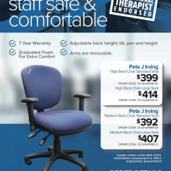 Ergonomic Chair Criteria Folding Pink Products Pete J Irving Office