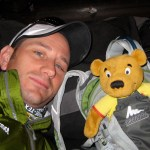 Teddy and Pete on the Transalpine Trail - Transalpine Race 2010