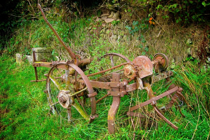 Rusted Farm Machinery