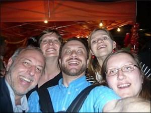 Selfie auf Stadteilfest Dresden-Neustadt