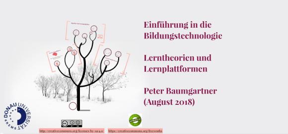 Startseite von vertontem Prezi-Vortrag zur Bildungstechnologie