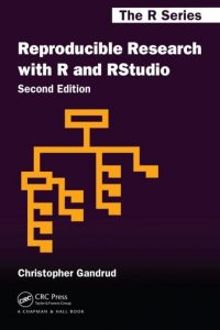 Cover: Reproducible Reseaarch with R and RStudio