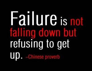 failure proverb