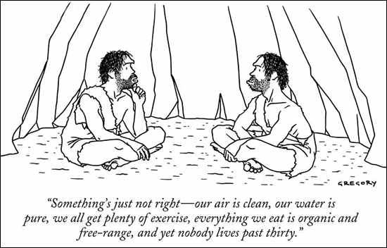 caveman lifespan