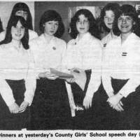 31st March 1979: Newspaper Report of Speech Day