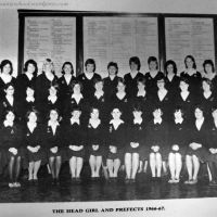 1966-67 Chronicle: Head Girl and Prefects