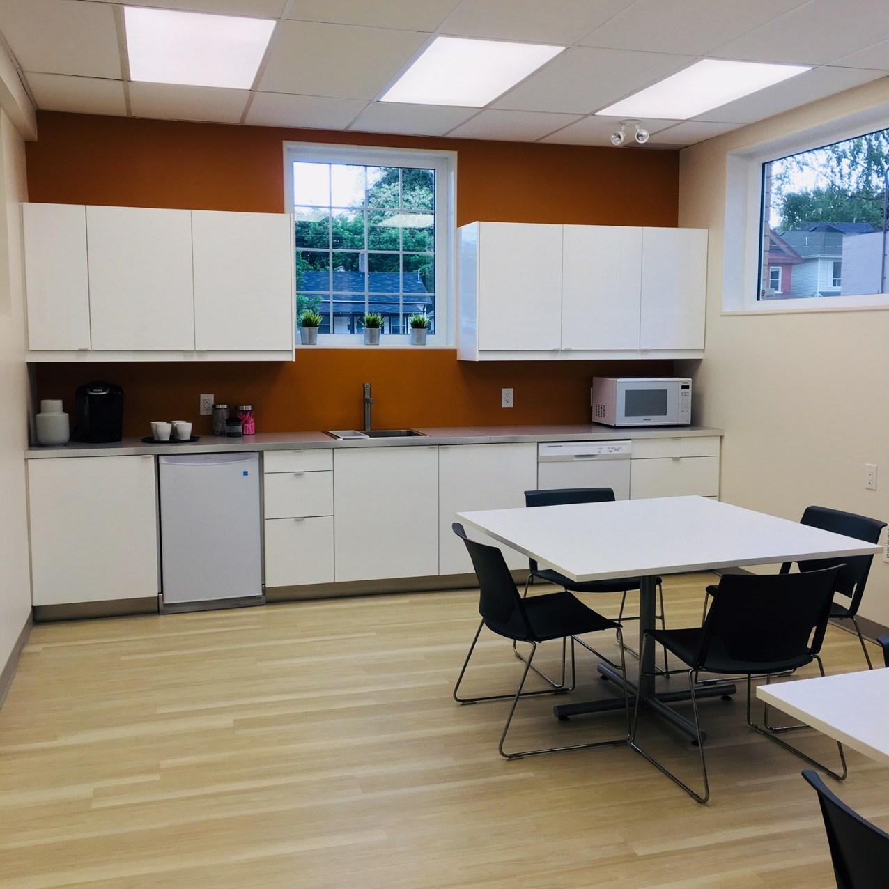 kitchen shared space
