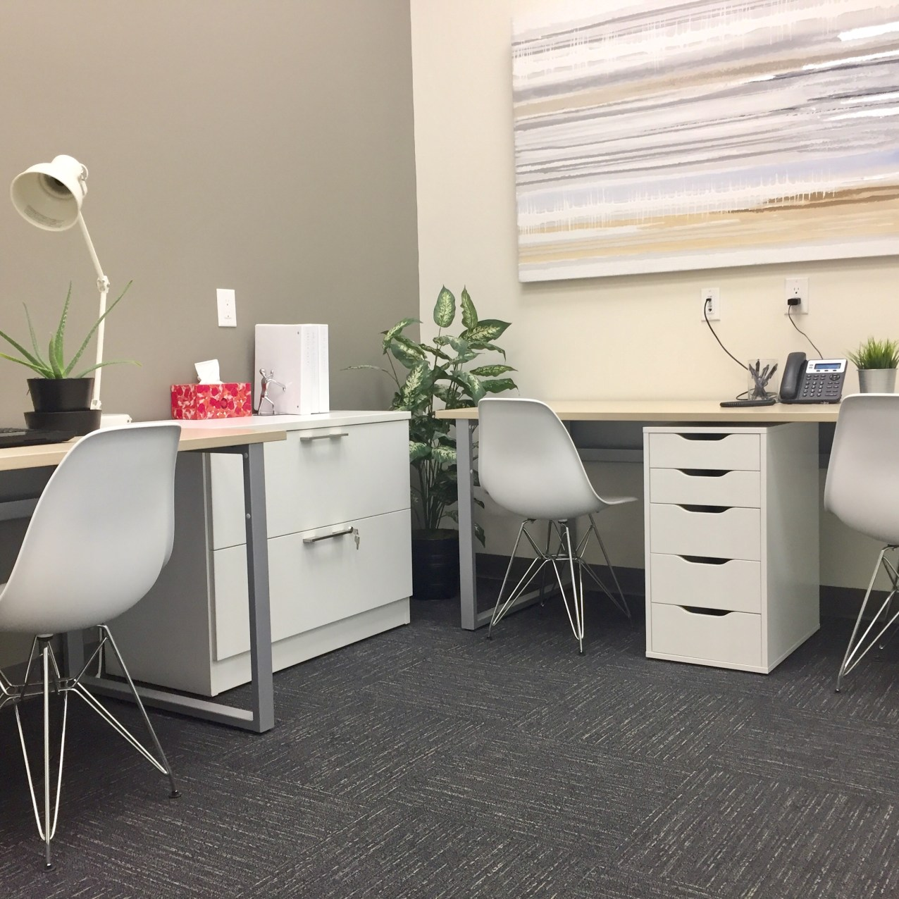double office rental fully furnished peterborough