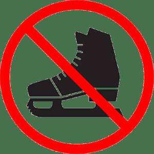 NO SKATING @ Peterborough | Ontario | Canada