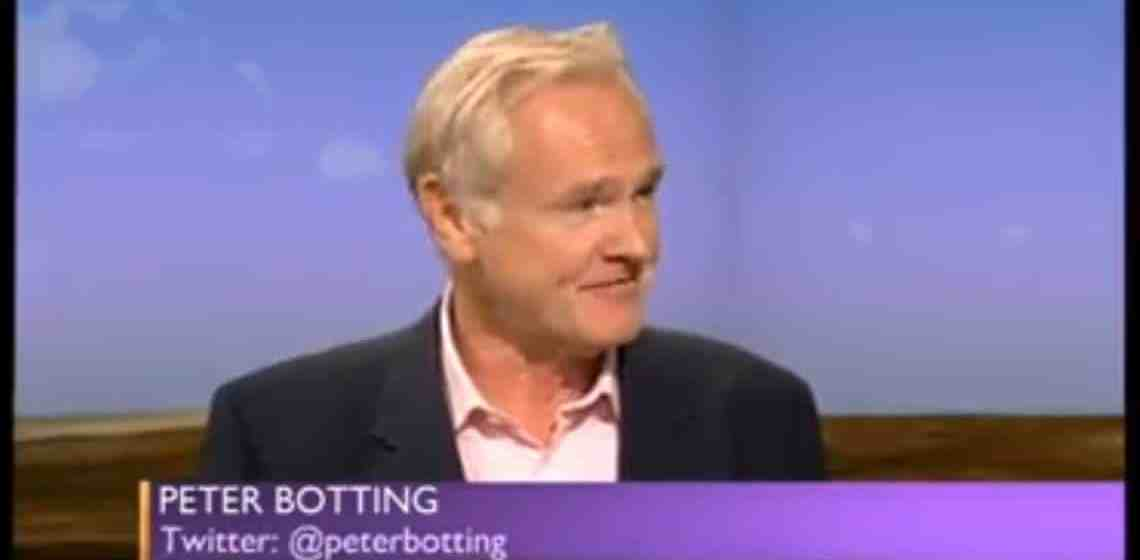 Peter Botting on The Daily Politics
